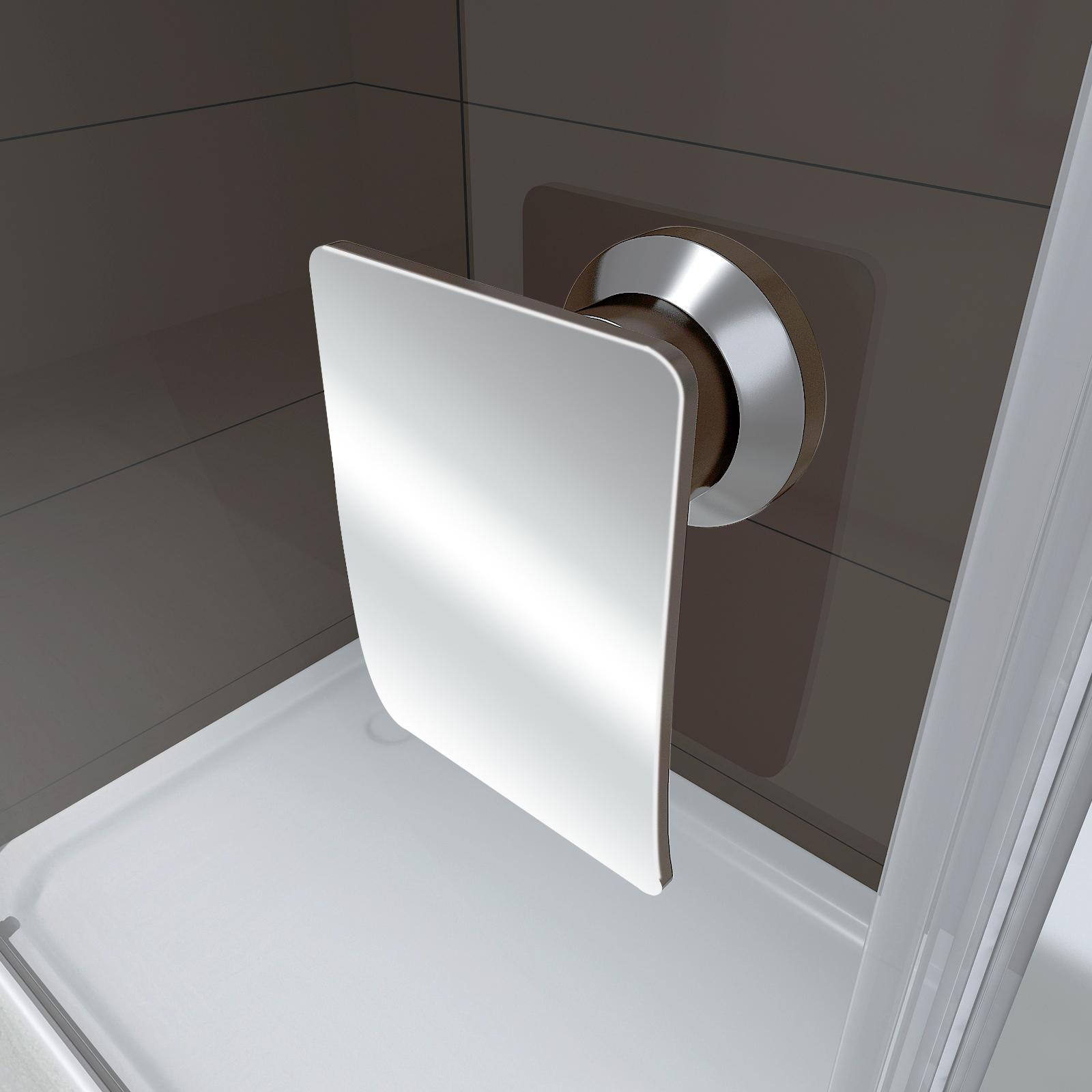 Nischent?r Dusche Verstellbar : Nische ? Nischent?r Dusche EX306BW ? Klarglas ? Breite w?hlbar