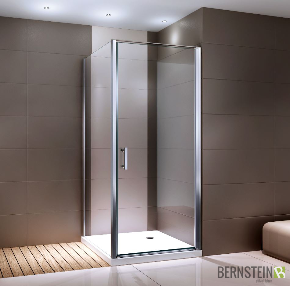 duschkabine eckdusche 8 mm nano echtglas ex416 klarglas 80 x 80 x 195 cm ebay. Black Bedroom Furniture Sets. Home Design Ideas