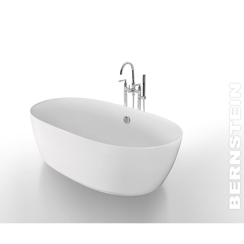 Details zu Freistehende Badewanne ROMA 180x84 inkl. Armatur