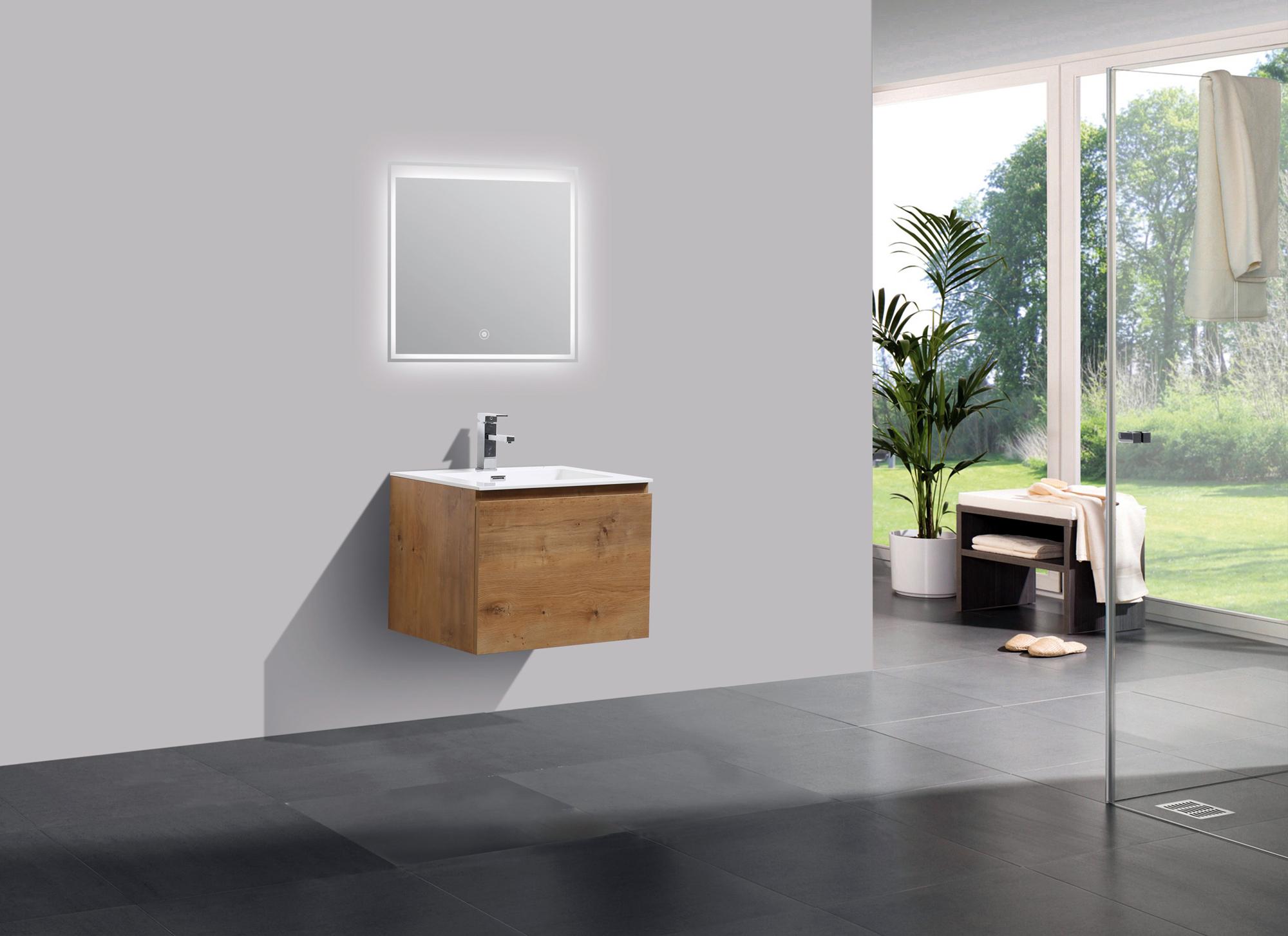 Mobili da bagno set alice lavabo per stanza armadietto a specchio