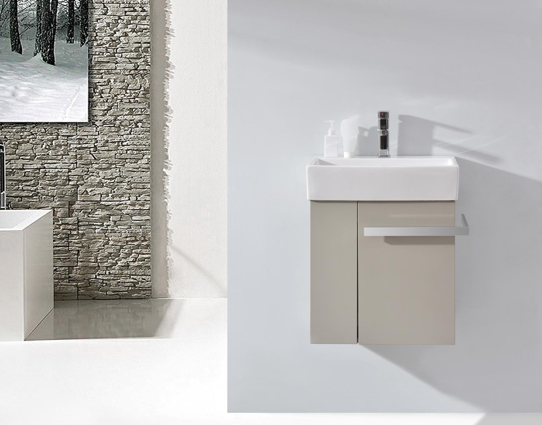 Badmöbel Set Badezimmer Unterschrank Waschtisch Badschrank Gäste WC ...