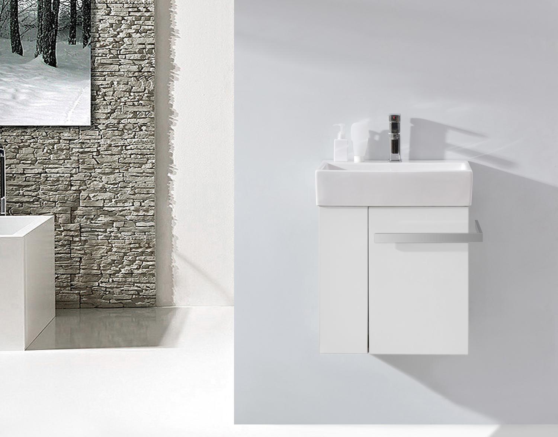 Mobile Bagno Compatto : Mobili da bagno set stanza sottopensile lavabo armadio wc ospiti