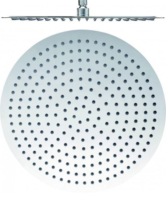 Tête de douche ronde en acier inoxydable