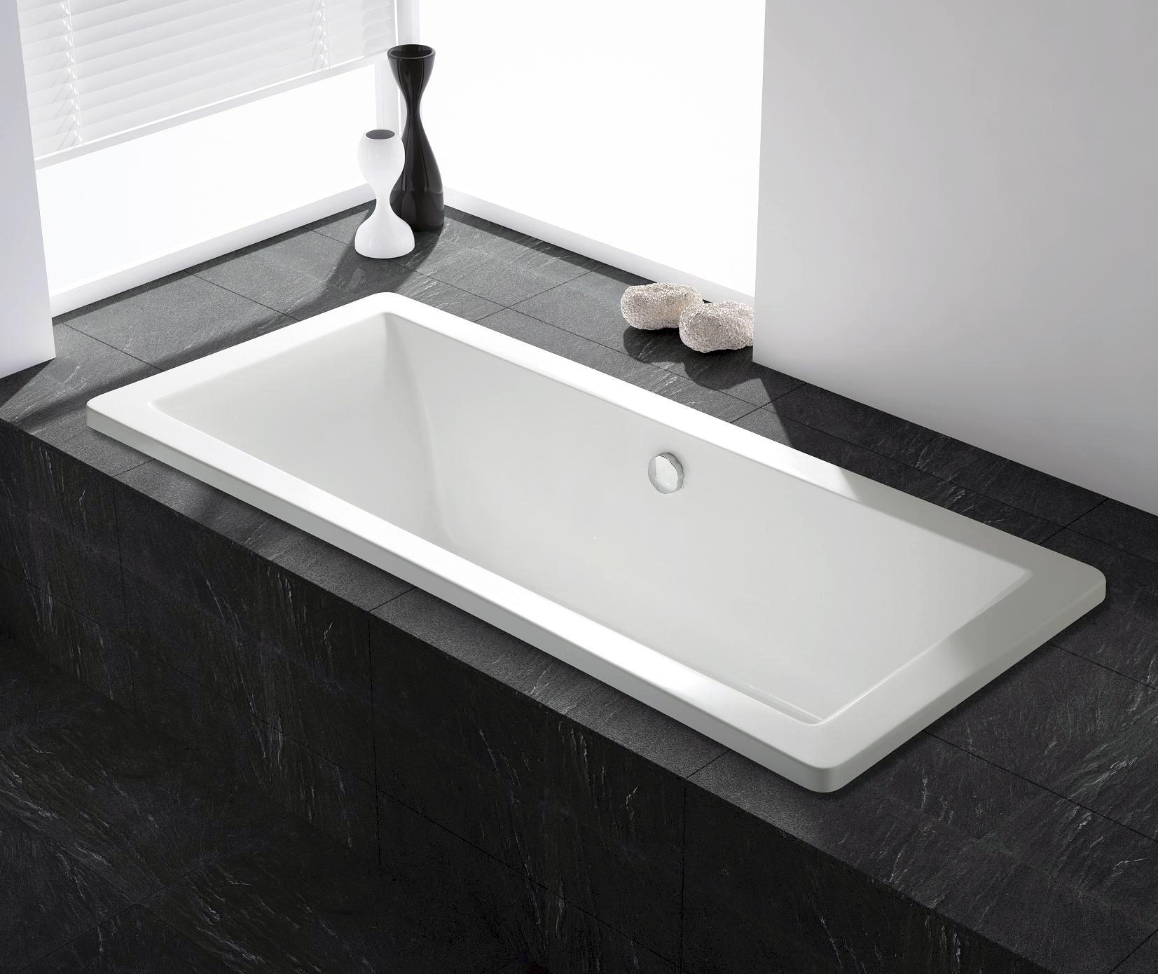 bernstein acryl badewanne 150 180cm gestell ab berlauf zulauf viega ebay. Black Bedroom Furniture Sets. Home Design Ideas