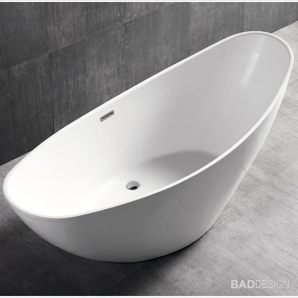 bernstein design badewanne freistehende wanne vice acryl nahtfrei armatur ebay. Black Bedroom Furniture Sets. Home Design Ideas