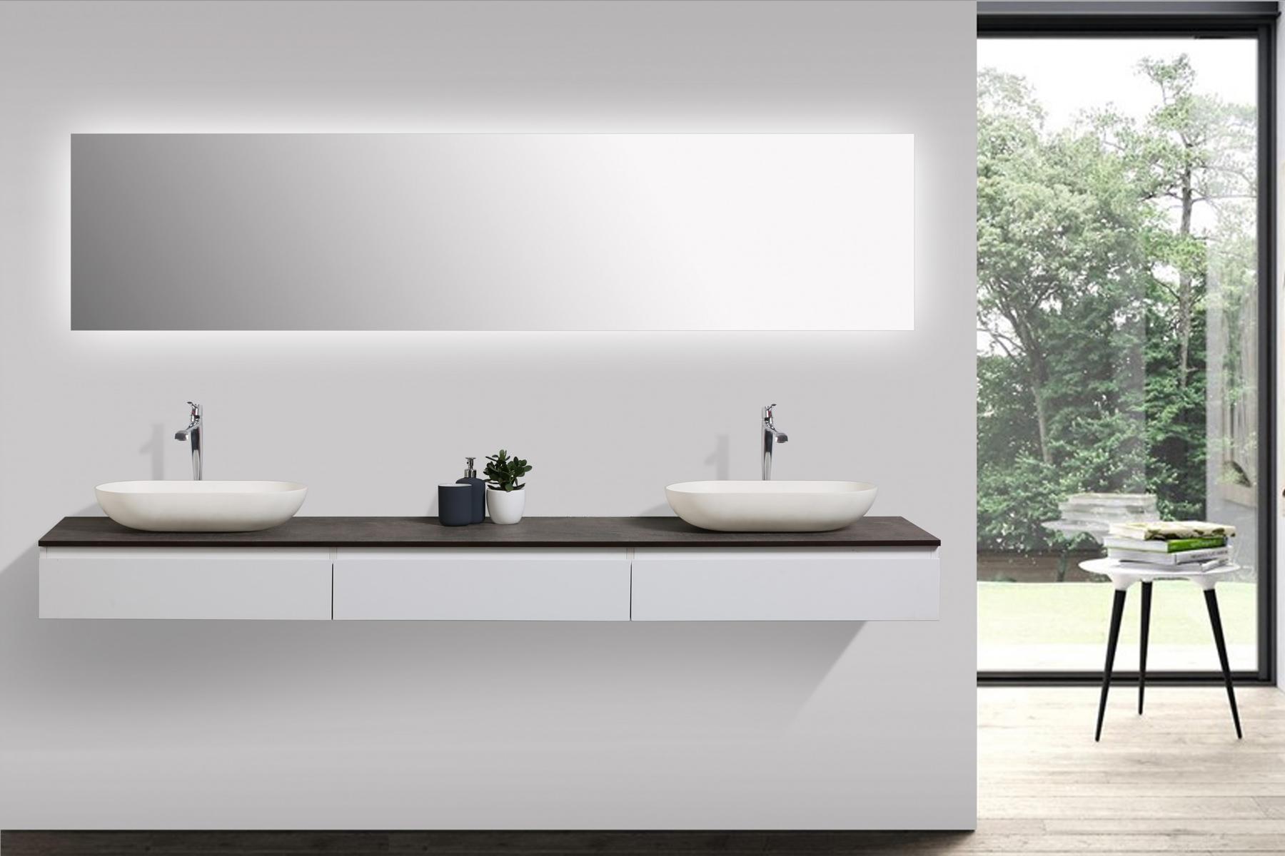 Mobili da bagno vision 2250 bianco opaco bacino opzionale ebay