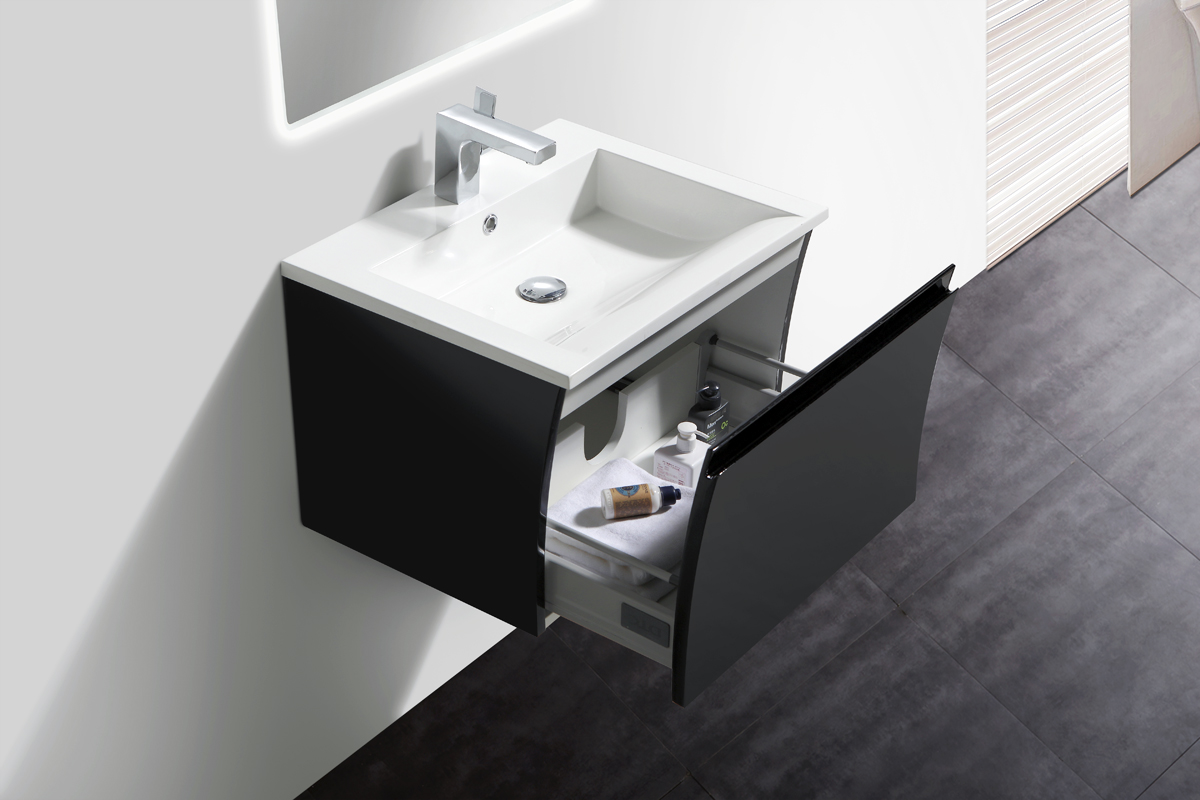 Bernstein mobili da bagno set 60cm lavandino e base bianco - Sifone lavandino bagno ...