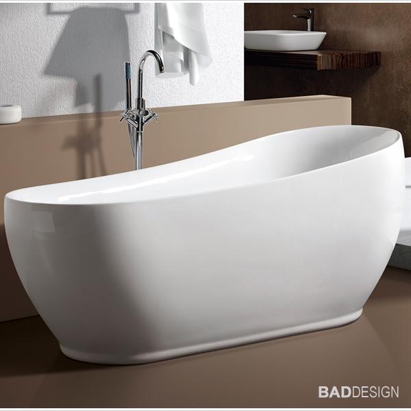 Vasca da bagno freestanding milano ms 233 con rubinetteria 8028 ebay for Vasca da bagno freestanding