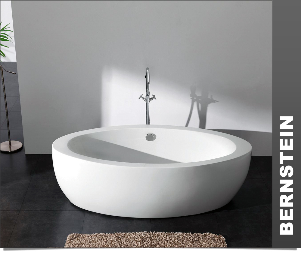 freistehende badewanne modena acryl 185x91 inkl ablauf ebay. Black Bedroom Furniture Sets. Home Design Ideas