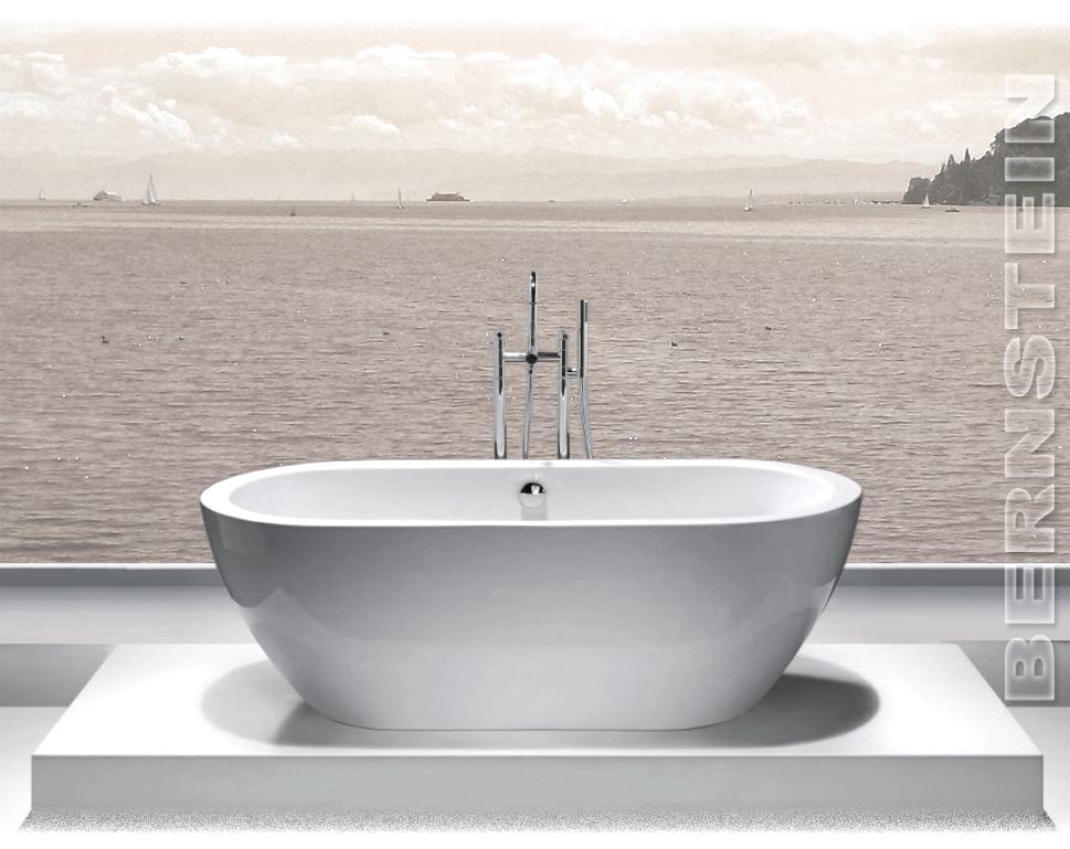 bernstein design badewanne freistehende wanne jazz acryl armatur ebay. Black Bedroom Furniture Sets. Home Design Ideas
