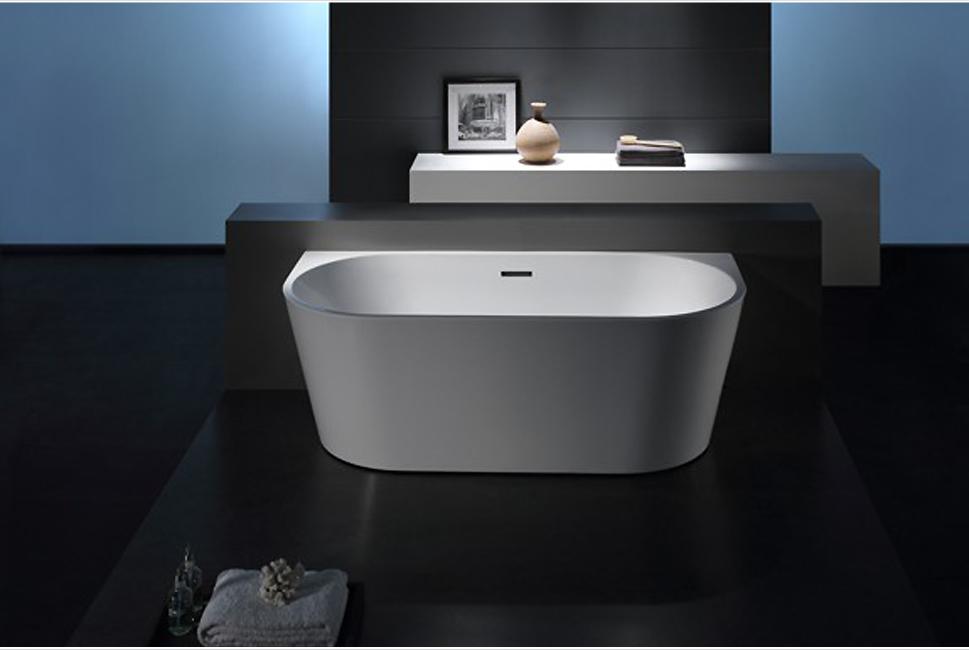 bernstein design badewanne freistehende wanne nova acryl nahtfrei armatur ebay. Black Bedroom Furniture Sets. Home Design Ideas