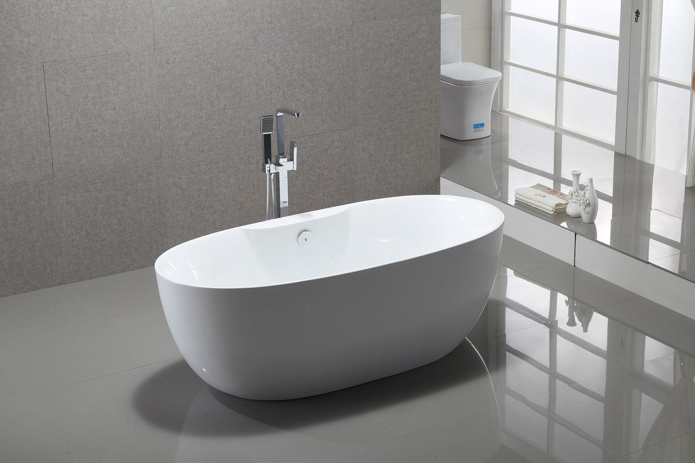 Vasca Da Bagno Troppo Lunga : Vasca da bagno indipendente standbadewanne acrilico roma plus