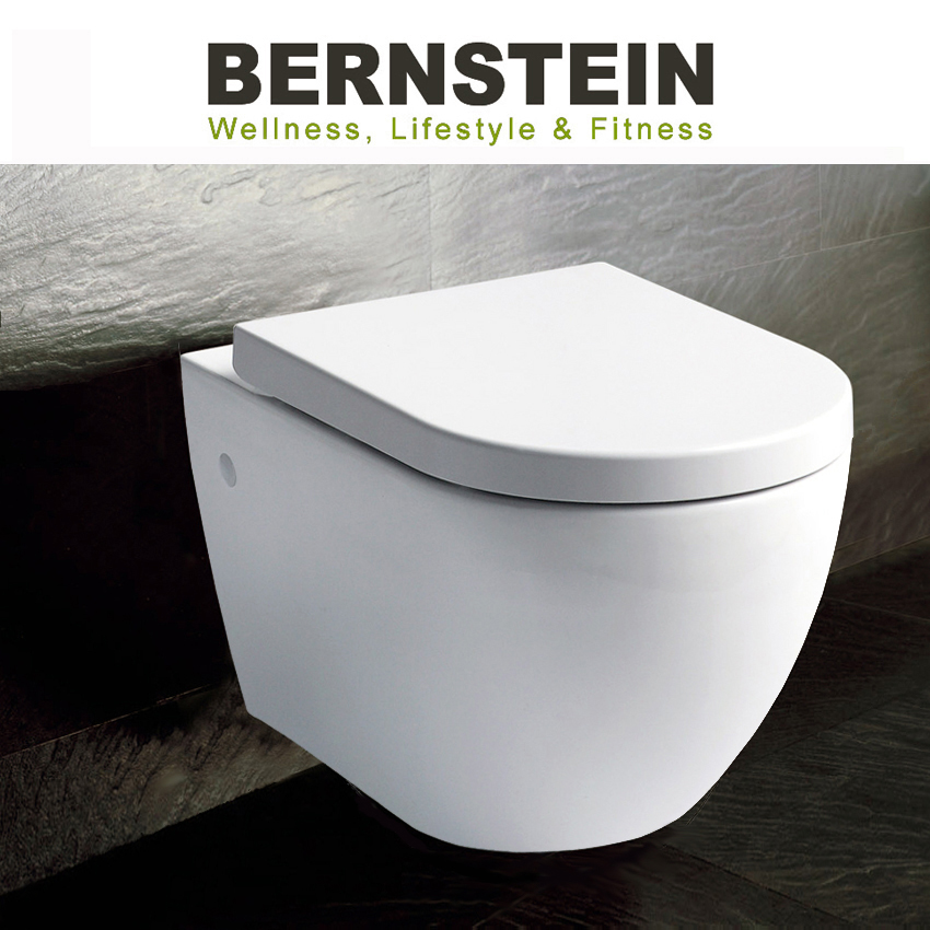 bernstein w803 luxus wand h nge wc toilette softclose chf picclick ch. Black Bedroom Furniture Sets. Home Design Ideas