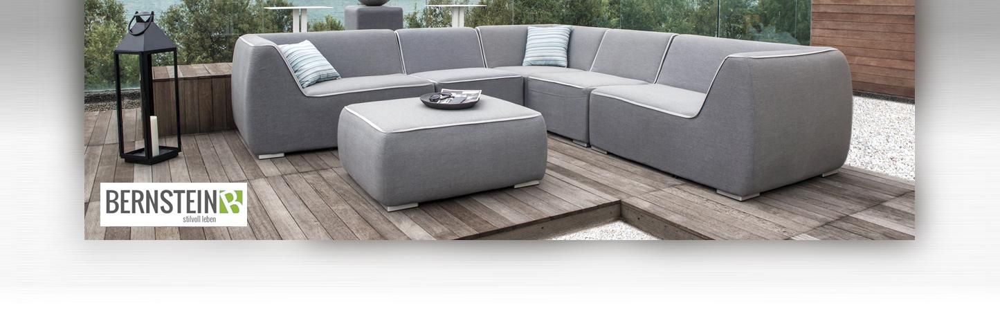 gartenm bel set nadi sunbrella textil gartenlounge 6 teilig gartensitzgruppe ebay. Black Bedroom Furniture Sets. Home Design Ideas