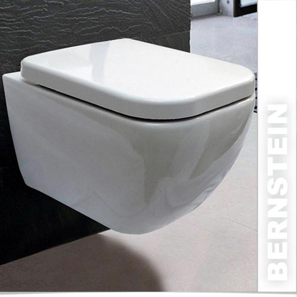 bernstein wand h nge wc toilette ch10100 deckel absenkautomatik vorwandelement ebay. Black Bedroom Furniture Sets. Home Design Ideas