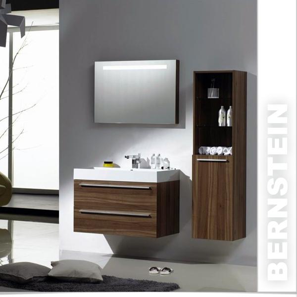 Bernstein badm bel set walnuss ebay - Bernstein badmobel ...