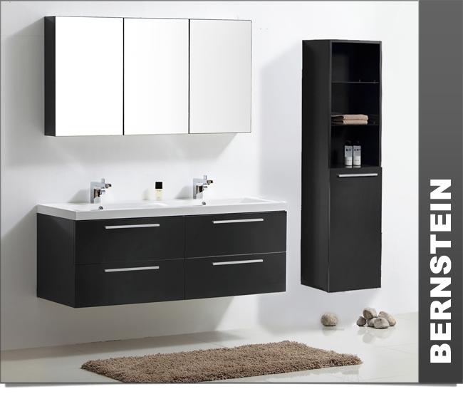 badm bel set doppelwaschbecken badezimmerm bel xxl spiegel wei walnuss ebay. Black Bedroom Furniture Sets. Home Design Ideas