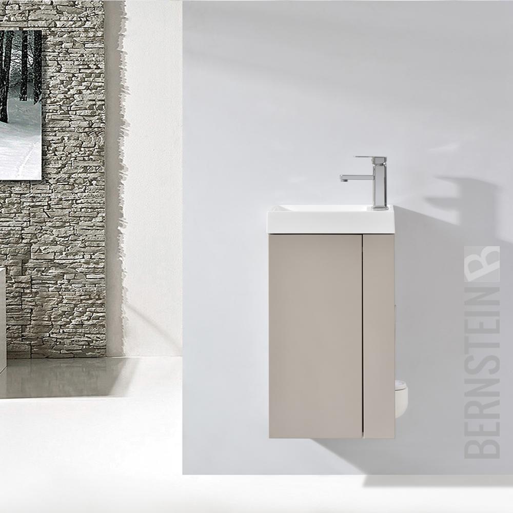 badm bel set badezimmer unterschrank waschtisch badschrank g ste wc waschbecken ebay. Black Bedroom Furniture Sets. Home Design Ideas