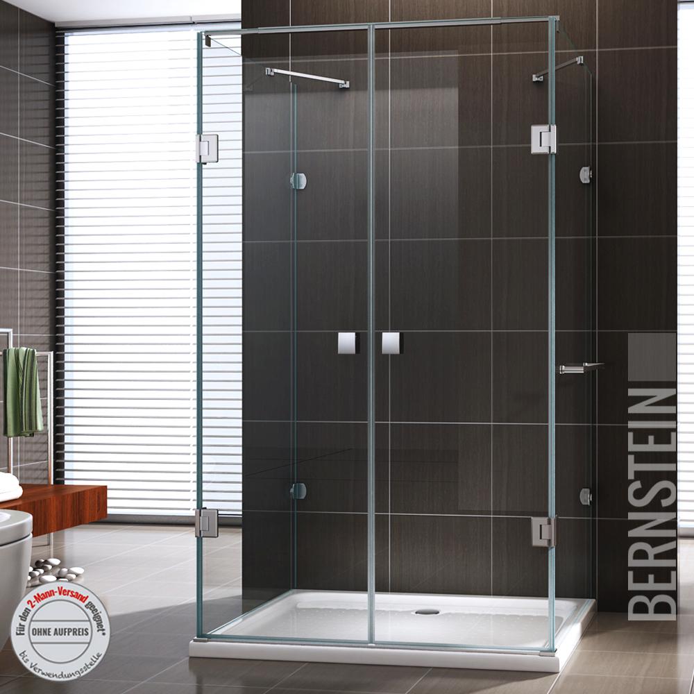 Duschkabine U Form Duschabtrennung Sicherheitsglas 8mm Esg Glas