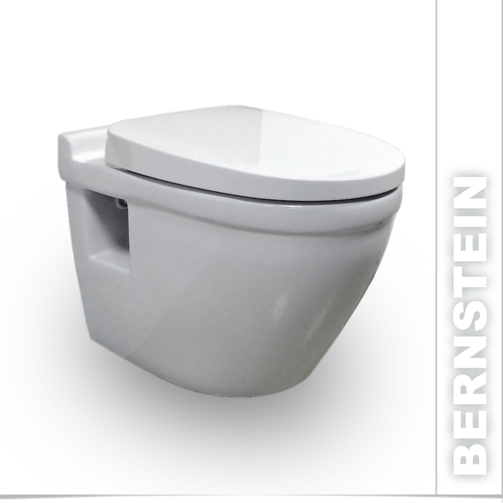 bernstein luxus wand h nge wc toilette softclose 8009 ebay. Black Bedroom Furniture Sets. Home Design Ideas