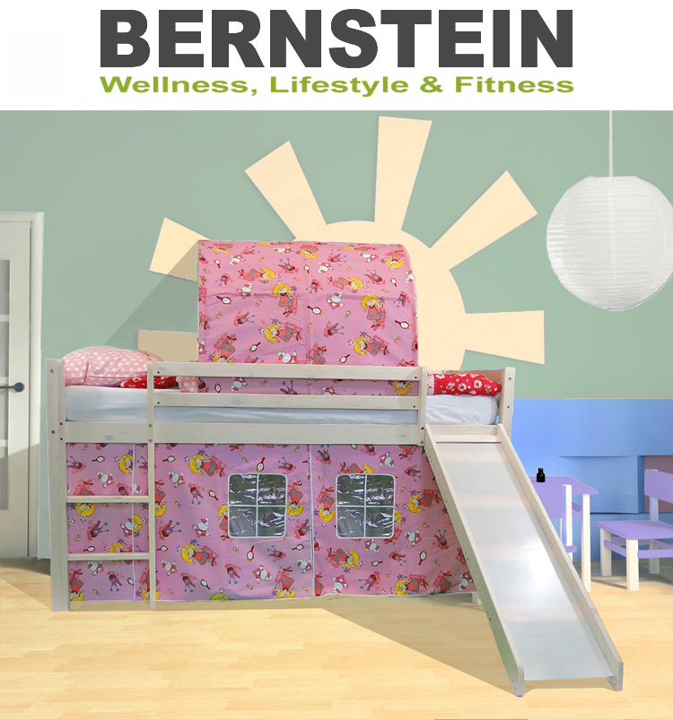 bett kinderbett prinzessin hochbett rutsche bettw sche prinzessin lillifee ebay. Black Bedroom Furniture Sets. Home Design Ideas
