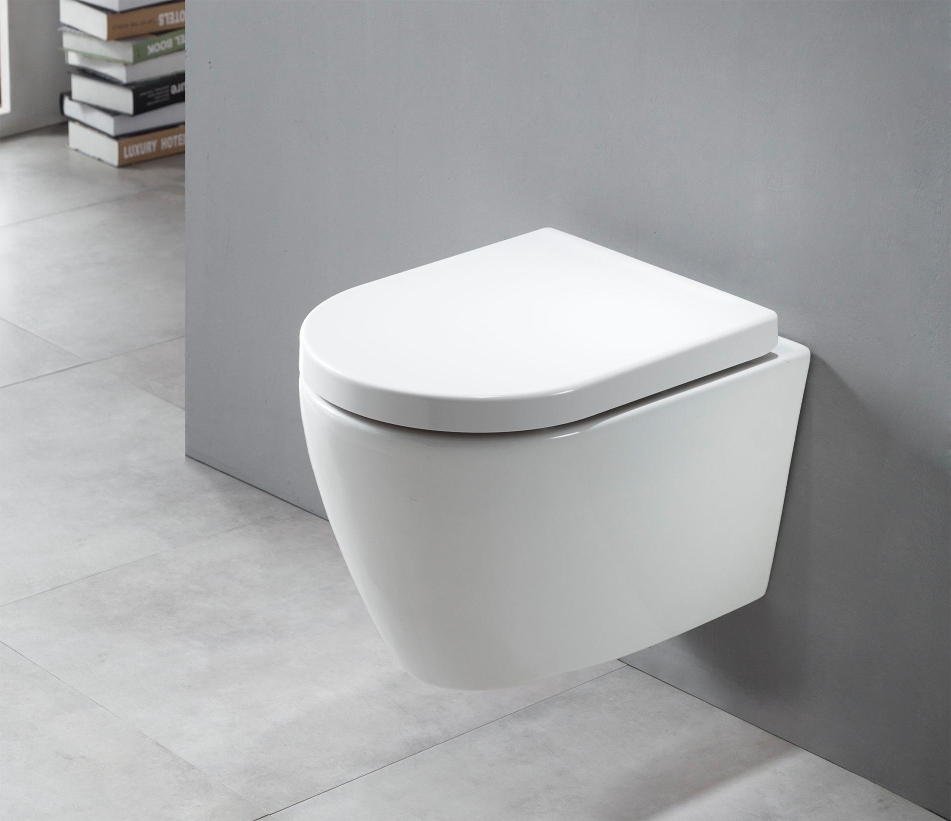 bernstein wand h nge wc b8030 wei softclose deckel toilette ebay. Black Bedroom Furniture Sets. Home Design Ideas