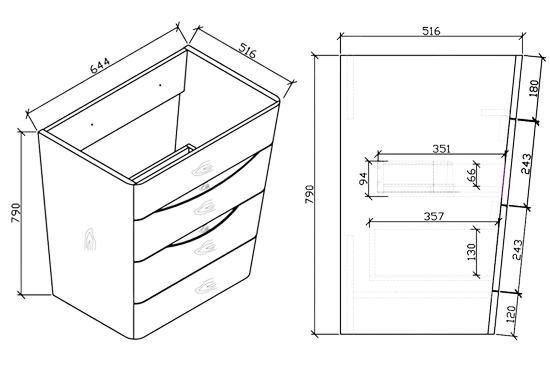 badm bel set victoria spiegel waschtisch. Black Bedroom Furniture Sets. Home Design Ideas