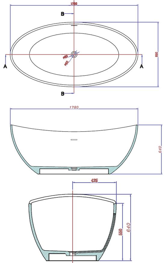 bernstein design badewanne freistehende wanne hawaii. Black Bedroom Furniture Sets. Home Design Ideas