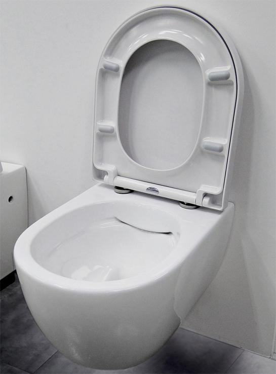 bernstein sp lrandlos design wand h nge wc toilette tiefsp ler soft close sitz ebay. Black Bedroom Furniture Sets. Home Design Ideas