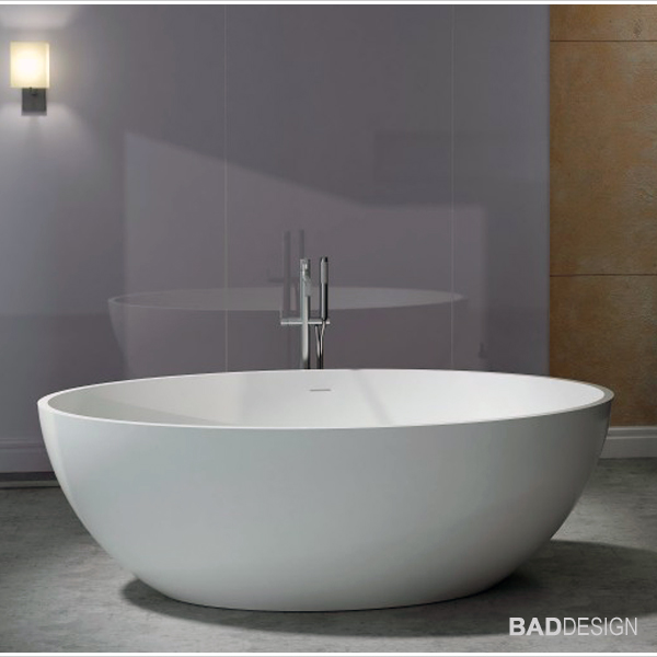 bernstein design badewanne freistehende wanne armatur relax mineralguss stone ebay. Black Bedroom Furniture Sets. Home Design Ideas