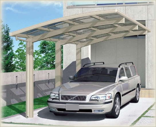 Car Parking Shed Material