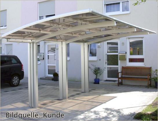 bernstein aluminium carport pulverbeschichtet 5400 x 2700 x 2700 mm freistehend ebay. Black Bedroom Furniture Sets. Home Design Ideas